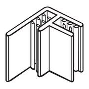 FFR Merchandising® SuperGrip® Flag Sign Holder For Scan Plate, Clear