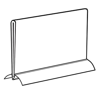 FFR Merchandising Snap Base Aluminum Sign Holder, 11