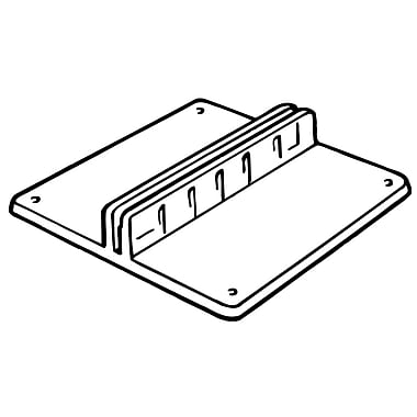 FFR Merchandising Table Top Styrene Card Holder, 1.75