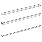"FFR Merchandising® 20-3/8"" x 34"" Sign Board System, White"