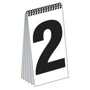 """FFR Merchandising® 11.125"""" x 5.13"""" Spiral Bound Dollar Numeral Pad"""