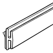"""FFR Merchandising® H-Channel Holds Up to 0.06""""T, Clear"""
