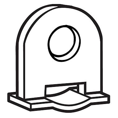 FFR Merchandising Plastic Banner Hanger Clip, Black, 87/Pack