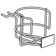 FFR Merchandising® Metal Beverage Shelf Extender, Black