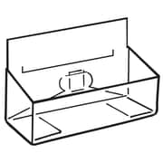 FFR Merchandising® Pop-Up® PVC Coupon Box With Channel Mount, Clear