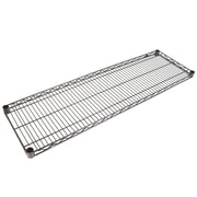 FFR Merchandising® Interlock™ 48 x 14 Heavy Gauge Steel Wire Shelving System, Black