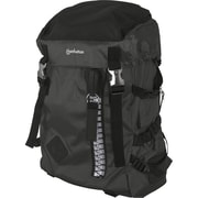 Manhattan® Zippack Heavy-Duty Polyester Backpack For 15.6 Laptops, Black