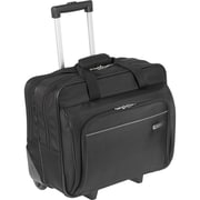 "Targus® Black Polyester Rolling Case For 16"" Laptop"