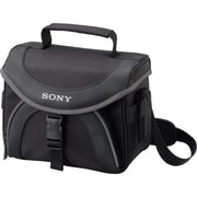 Sony® LCSX20 Soft Carrying Case For Camcorders, Black/Gray