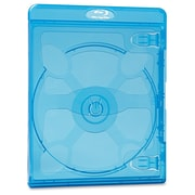 Verbatim® Blu-Ray DVD Disc Storage Case, Blue, 25/Pack