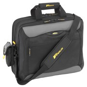 "Targus® CityGear Black/Gray Nylon Carrying Case For 16"" Notebook"