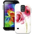 Tridentcase™ Aegis Sleek Armor Design Case For Galaxy S5, Red Poppies