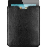 Premiertek Leather Sleeve Carrying Case For iPad and iPad 2, Black