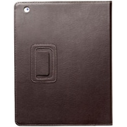 Kensington® Folio Case With Stand For iPad 4th Gen/3rd Gen & iPad 2, Brown
