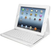 Adesso® Compagno™ 3 Bluetooth Scissor-Switch Keyboard With Carrying Case ForiPad, White