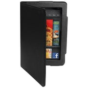 Premiertek Flip Leather Carrying Case With Stand For Amazon Kindle Fire, Black