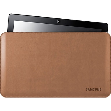 Samsung Leather Protective Case For 11.6in. Series7 Slate PC, Tan