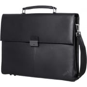 "Lenovo® 14.1"" ThinkPad Executive Leather Carrying Case, Black"