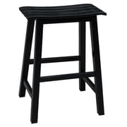 International Concepts 23'' Bar Stool; Black