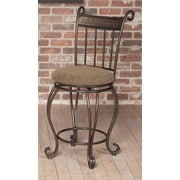 Largo Beau 24'' Swivel Bar Stool with Cushion