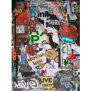 Graffitee Studios Boston Beantown Boiyz Graphic Art on Wrapped Canvas