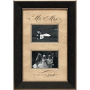 Artistic Reflections Mr. and Mrs. Photo Frame