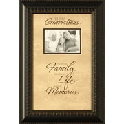 Artistic Reflections Three Generations Photo Frame