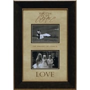 Artistic Reflections Faith Hope Love Photo Frame
