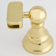 Afina Radiance Tilt Mounting Brackets; Polished Brass