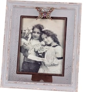 Wilco Home Metal Butterfly Picture Frame