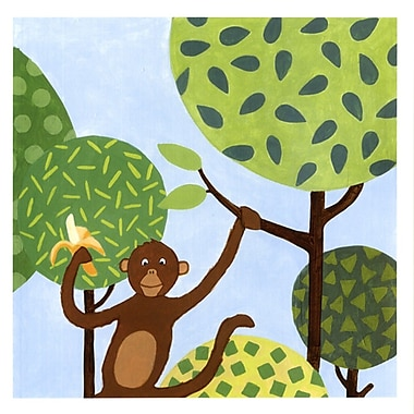 Evive Designs Jungle Fun I Paper Print
