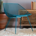 Bend Goods Bunny Side Chair; Peacock Blue