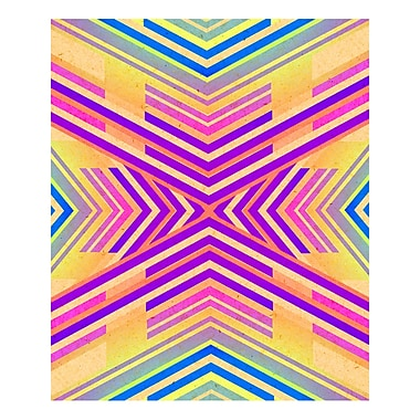 Evive Designs 'Neon Boho Tribal Geometric' by Evie Alessandria Graphic Art