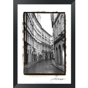 Evive Designs The Streets of Prague I by Laura Denardo Framed Photographic Print