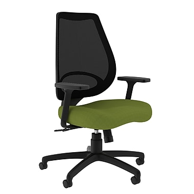 Compel Office Furniture Moda Mesh Task Chair with Arms; Green