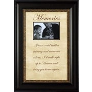 Artistic Reflections Memories If Tears Could Build Photo Frame