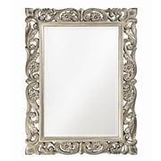 Howard Elliott Chateau Mirror; Antique French Pewter
