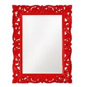 Howard Elliott Chateau Mirror; Red