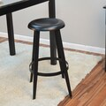 Carolina Cottage Grayson 30'' Bar Stool; Black