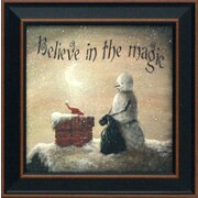 Artistic Reflections Believe in Magic Framed Graphic Art