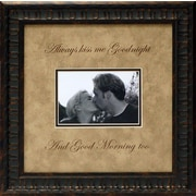 Artistic Reflections Always Kiss Me Goodnight Photo Frame