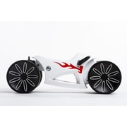 Prince Lionheart yoMOTO Ride-on Toy; White/Red