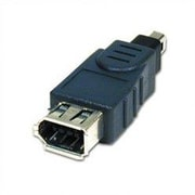 Comprehensive IEEE1394 4 Pin Plug to 6 Pin Jack Adapter