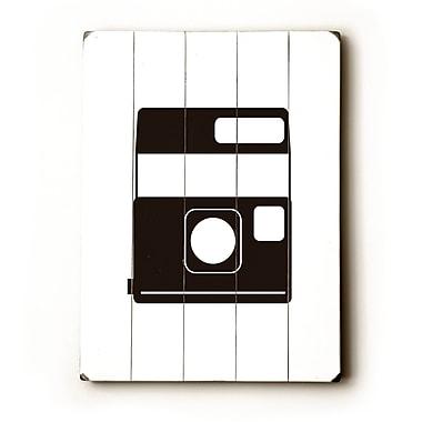 Artehouse LLC Polaroid Graphic Art Plaque