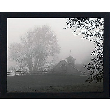 Artistic Reflections Parish Hill Barn by Treibert, Christine Framed Photographic Print