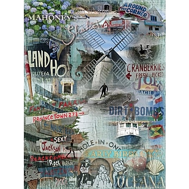 Graffitee Studios Cape Cod Around The Corner - Orleans Graphic Art on Wrapped Canvas