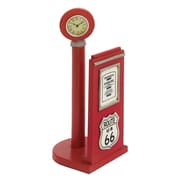 Woodland Imports ''US 66'' Gas Pump Paper Holder Sculpture