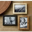 St. Croix Kindwer 3 Piece Hand Carved Bone Ribbed Picture Frame Set