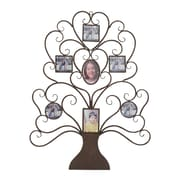 Woodland Imports Metal Tree Shaped Picture Frame