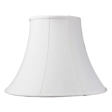 Home Concept 20'' Modern Classics Fabric Bell Lamp Shade